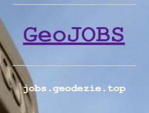 joburi geodezie